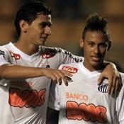 Ganso-Neymar