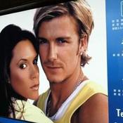 La carrière de Beckham en images