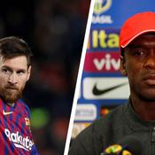 Lionel Messi et Clarence Seedorf
