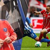 Thomas Meunier et Franck Ribéry