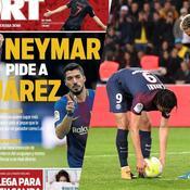 Le journal du mercato : Neymar préférerait Suarez à Cavani