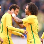 Neymar et Marcelo