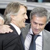 Roberto Mancini-José Mourinho