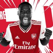 Pépé après son transfert à Arsenal : «Persuadé que c'est le bon choix»