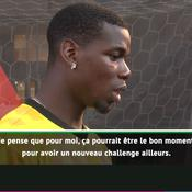 Pogba pense ouvertement à «un nouveau challenge», loin de Manchester (vidéo)