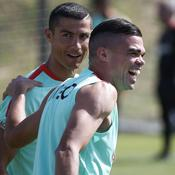 Cristiano Ronaldo et Pepe