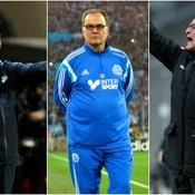 Andre Villas-Boas, Marcelo Bielsa et Claudio Ranieri