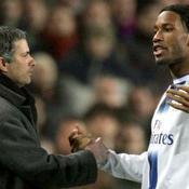 José Mourinho et Didier Drogba