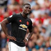 Paul Pogba sous le maillot de Manchester United