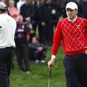 Tiger Woods vs Ian Poulter