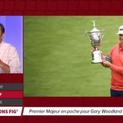 US Open : premier Majeur en poche pour Woodland