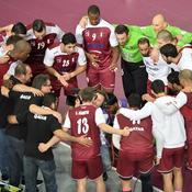Les Bleus face au «Qatar Handball Club»