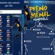 Mondial 2017 : le calendrier des matches par ville