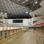 Le stade de l'Aqua Dome à Kumamoto