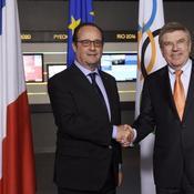 La démarche symbolique de François Hollande au CIO