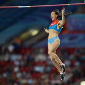 Yelena Isinbayeva (34 ans, athlétisme)