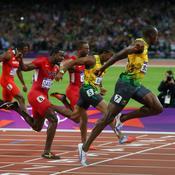 Finale du 100 m des JO de Londres