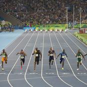 Finale du 100 mètres des JO de Rio