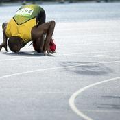 Finale du 200 m des JO de Rio