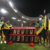 Finale du relais 4x100 des JO de Pékin