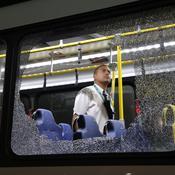 Bus pris pour cible à Rio