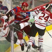 Hockey : Canada-Russie