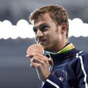 Christophe Lemaitre médaillé