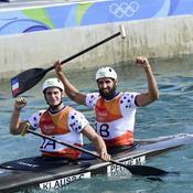 Gauthier Klauss et Matthieu Péché (canoë biplace slalom C2) - Bronze