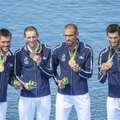 Quatre de couple poids légers messieurs (aviron) - Bronze