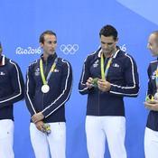 Relais 4x100 m messieurs (natation) - Argent