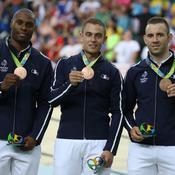Vitesse par équipes messieurs (cyclisme sur piste) - Bronze