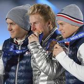 Médaillés slalom géant