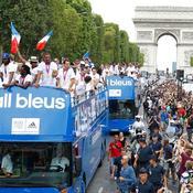 Bus des athletes Francais