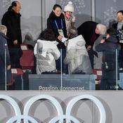 La poignée de main entre les deux Corées