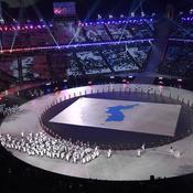 Les deux Corées unies sous une même bannière