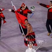 Pita Taufatofua torse-nu comme à Rio