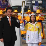 JO 2018 : la flamme olympique est arrivée en Corée du Sud