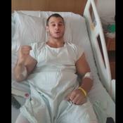 Opéré après sa terrible blessure, Samir Aït Said promet de revenir pour Tokyo 2020