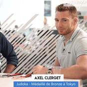 Judo : Médaillé de bronze mondial, Axel Clerget en visite au Figaro