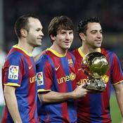 Messi, double ballon d'or