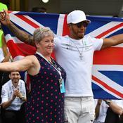 Lewis Hamilton 2017 Mère