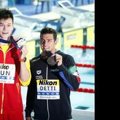 Mondiaux de natation : Horton a refusé d'accompagner Sun Yang, accusé de dopage, sur le podium
