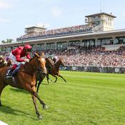 Record d'affluence au Prix de Diane