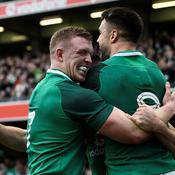 L'Irlande balaie l'Ecosse et se rapproche du Grand Chelem