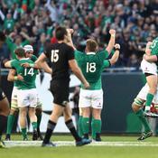 Après 111 ans d'attente, l'Irlande fait chuter l'ogre All Black !