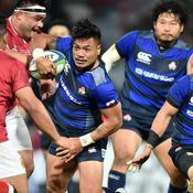 Les Japonais ont dominé les Tonguiens (39-6), la semaine dernière à Toulouse