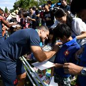 France-Argentine J-7: Bain de foule joyeux pour les Bleus
