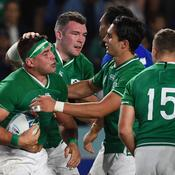 Coupe du monde : l'Irlande balaie les Samoa et file en 1/4 de finale
