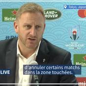 Mondial de rugby : le match Angleterre-France annulé en raison d'un typhon