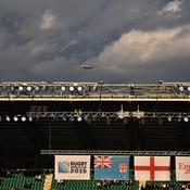Comme souvent à Londres, le ciel a menacé en début de soirée. Mais la cérémonie a finalement été épargnée par la pluie.